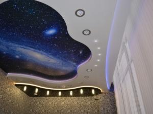 Резные потолки. Звездное небо.